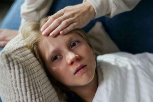 boy unwell with meth exposure